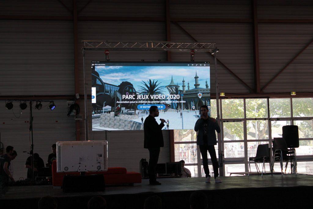 Présentation de PJV 2020 sur la scène du Lord Of The Geek
